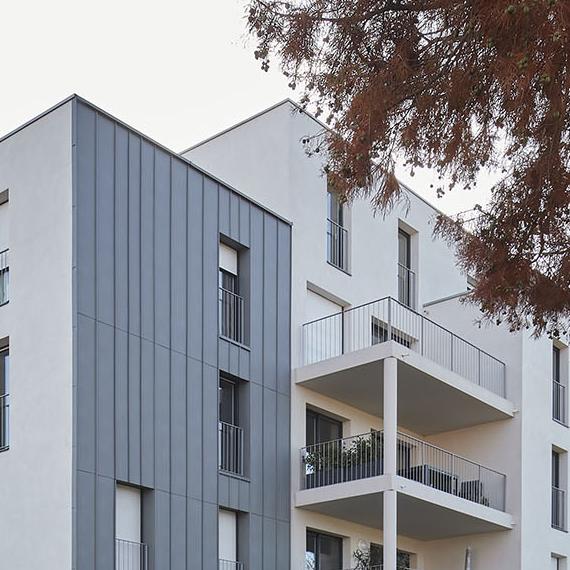 Réalisations Collectifs & Maisons groupées Philippe Misériaux architecte