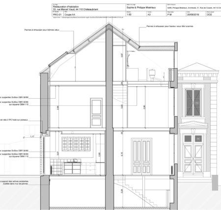 plan Restauration Maison SP